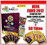 Panini - UEFA EURO EM 2012 - STARTER-SET / HARD-COVER-ALBUM + 50