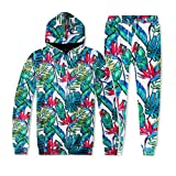 3D Print Herren Hoodie + Sweathosen männer Trainingsanzug Herbst Winter Motive Sweatshirt Tops Hosen Sets Sportanzug CICIYONER