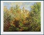 Künstler: Claude Monet   Motiv: Die Gärten in Bordighera, 1884   Bildmaße: 60.3 x 47.3 cm   Blattmaße: 71.2 x 56.0 cm   Technik:Der Kunstdruck wird zwischen einer stabilen Rückwand und einer UV-beständigen Klarsicht-Plexiglasscheibe gelegt und in ...