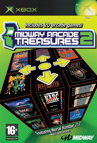 Midway's Arcade Treasures 2 UK IMPORT (Arcade 2 Treasures Midway)