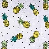 SCHÖNER LEBEN. Baumwolljersey Jersey Baumwolle Ananas