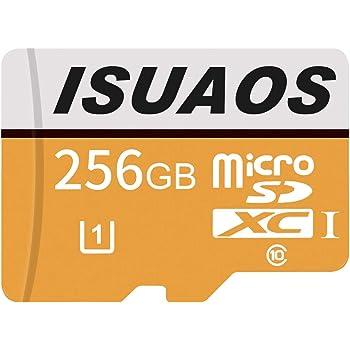 ISUAOS - Tarjeta de Memoria Micro SD SDXC (256 GB, Clase 10 ...