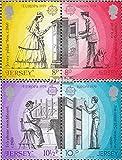 Prophila Collection GB - Jersey 192-195 Paare (kompl.Ausg.) 1979 Postwesen (Briefmarken für Sammler)