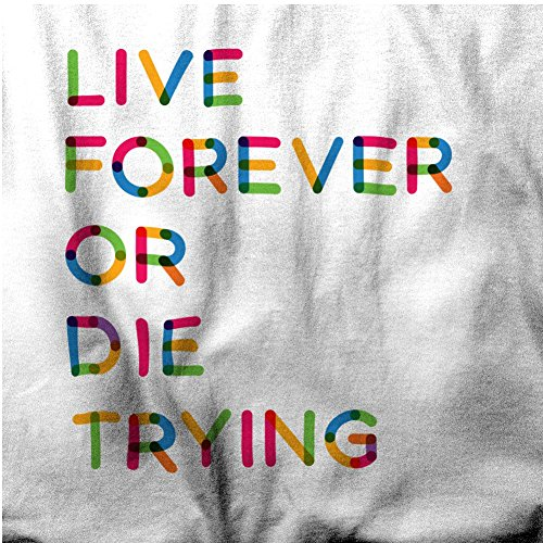 Live Forever or Die Optimist YOLO YALA Der Versuch, Herren T-Shirt Yellow