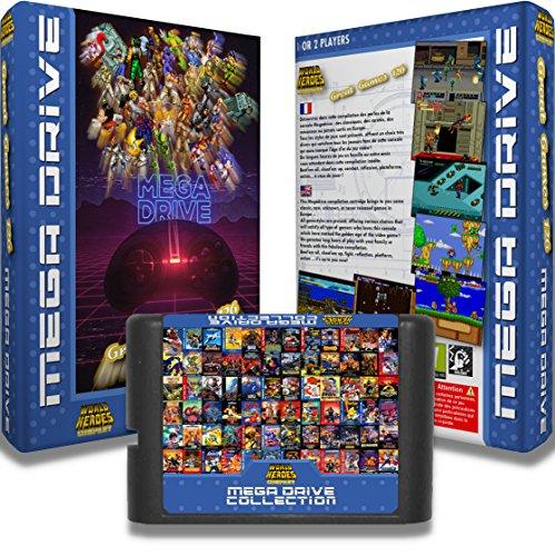 """Cartouche pour console Megadrive """"Great Games 126"""" : Une sélection des plus grands jeux de la Megadrive"""