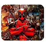 Cool Deadpool Personalized Custom Gaming Mousepad Rectangle Mouse Mat / Pad Office Accessory And Gift Design-LL965