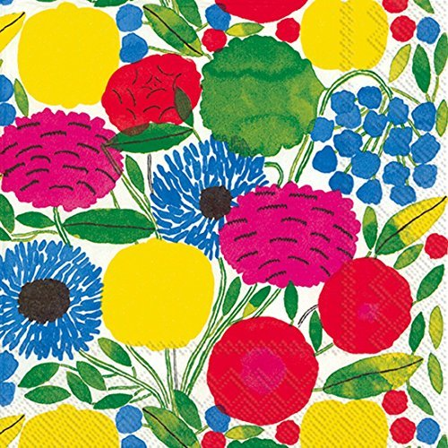 marimekko-designer-finlandais-sitruunapuu-rose-luxe-serviettes-de-table-de-papier-traditionnel-by-ih