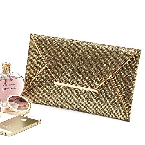 Gold Clutch HT HT Damen Clutch Damen qxIBEwXp7