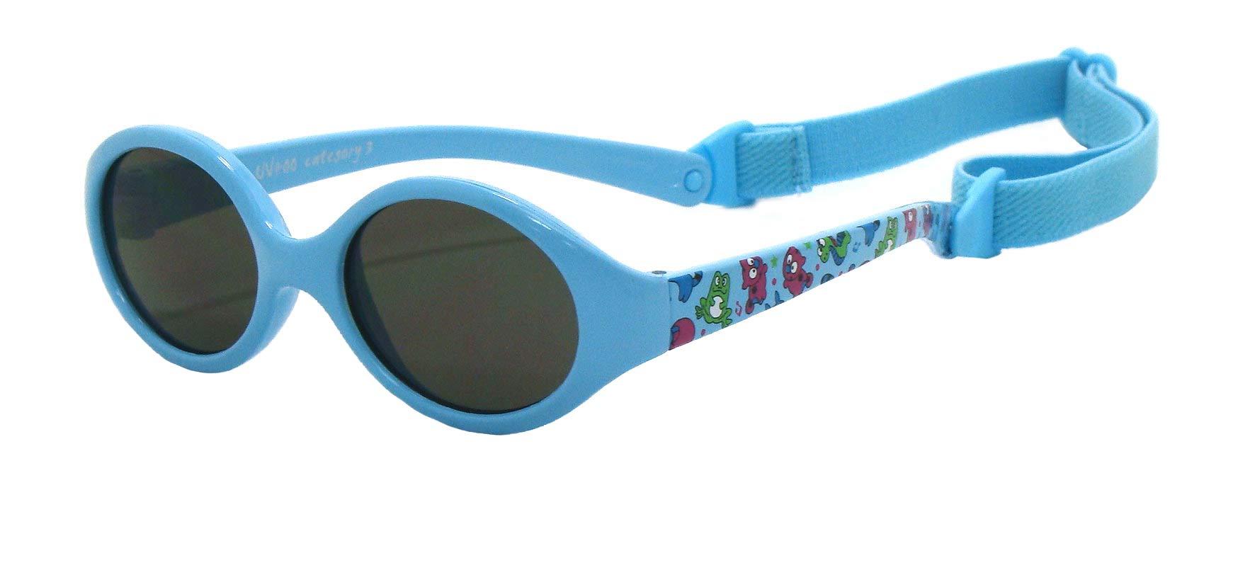 19cb7f45fa Kiddus Gafas de sol bebe para niños y niñas, TOTALMENTE FLEXIBLES, a ...