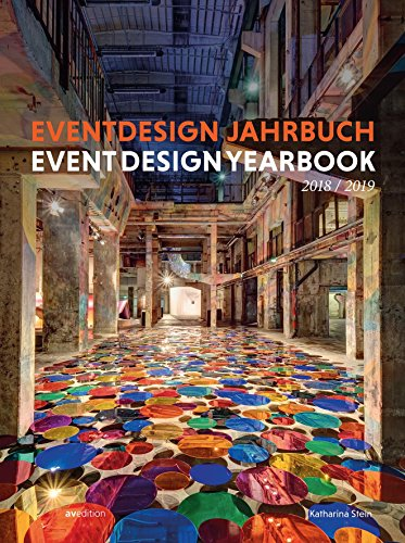 Eventdesign Jahrbuch 2018 / 2019 (Event Design Yearbook) Buch-Cover