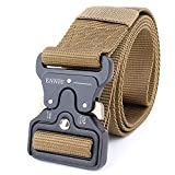 "QX Tactical Belt, 1.7""Tactical Heavy Duty Gürtel, verstellbare Militär Nylon Gürtel Nylon Web"