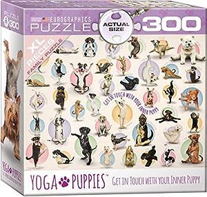 "Eurographics 8300-0992 ""Yoga Puppies Puzzle (300 Piezas)"