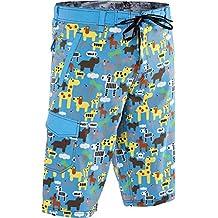 TSHOTSH Men's Animal Print Swimming Shorts
