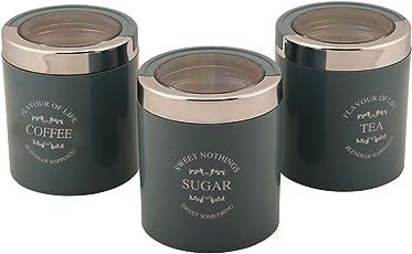 Jaypee Plus Classique 3 set of 3 Tea, Sugar & coffee container