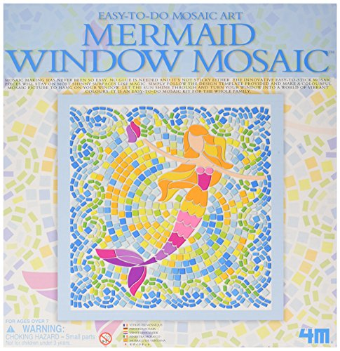 Mosaik-kunst (4m Fenster Mosaik Kunst-Girl (3Verschiedene))