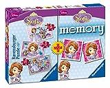 Sofia la Principessa: Puzzle 15-20-25 Pezzi + MemoryI puzzle Ravensburger sono un perfetto modo per rilassarsi dopo una lunga giornata o per divertirsi in famiglia in un giorno di pioggia.Dimensione Scatola: 27 x 37 x 6 cm