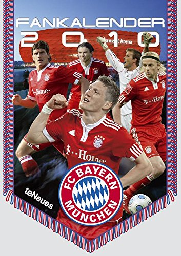 Preisvergleich Produktbild FC Bayern München 2010. Fankalender