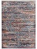 Benuta Teppich Vintage Safira Multicolor 100x156 cm - Vintage Teppich im Used-Look