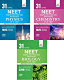 31 Years NEET Chapter-wise & Topic-wise Solved Papers (PCB) (2018 - 1988) 13th Edition