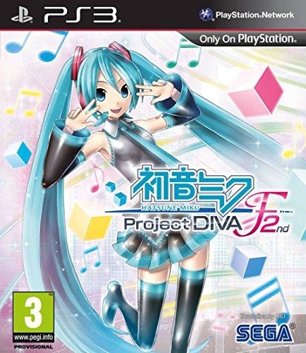 Hatsune Miku Project diva f 2ND Bildschirmtexte: Englisch, Deutsch (Hatsune Miku Diva F 2nd Project)