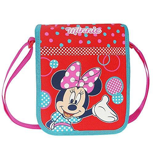 s | Kindergarten Schultertasche | 22 x 20 x 6 cm | Minnie Maus Mouse ()