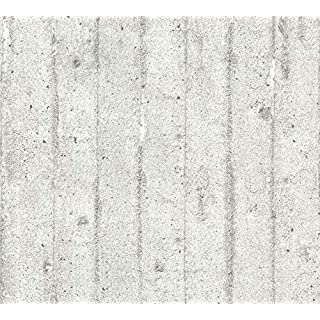 A.S. Création Vliestapete Beton Concrete & More Tapete in Vintage Beton Optik 10,05 m x 0,53 m grau Made in Germany 713711 7137-11