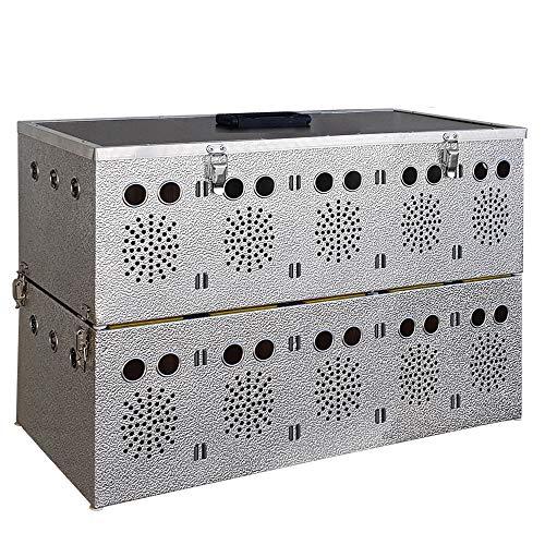 Breker Aluminium Transportkorb 10 Abteilungen