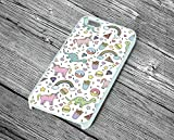 Best GENERIC 4s case - NEW Dinosaur Unicorn Donuts Colour Hard Phone Case Review