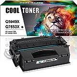 Cool Toner 7000 Seiten Kompatibel für Q5949X(49X) CRG708 für Druckerpatron HP Laserjet 1320 1320N 1320TN 1320NW 3390 3392; HP Laserjet P2015 P2015D P2015N P2015DN P2015X M2727NF;Canon LBP3300