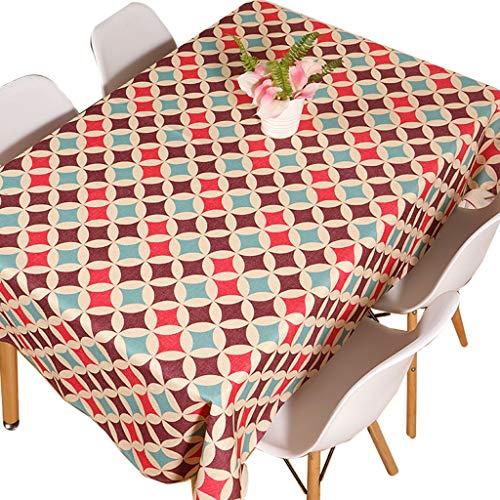 Nappe en coton et lin nappe nappe fashion nappe (taille : 85 * 85cm)