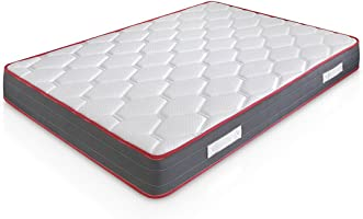 Marckonfort Matelas Ergo-Therapy à mémoire de Forme | 18 cm Épaisseur | 2 cm de Mousse à mémoire de Forme de 65 kg/m3 | Foam AirSistem | Extrêmement Durable | Certification ISO 9001® …