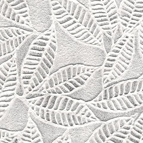 Thai Embossed Paper- Ficus Leaves 22x30 Inch Sheet by Black Ink - Ficus Tree Leaves