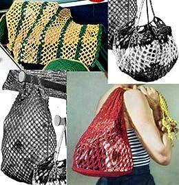 Malla estilo bolsas para Crochet y bolsas de ropa de ...