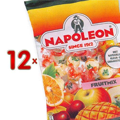 Preisvergleich Produktbild Napoleon Fruitmix Sachet 12 x 150g Packung (fruchtiges Bonbon mit Brausefüllung)