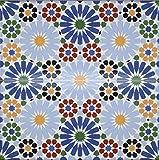 Verkauf durch ZAGORA 2 Keramikfliesen Mosaikfliesen 50x25cm Rest B-Ware - Küchen Wandfliesen Dekor