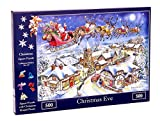 The House of Puzzles 500 Piece Jigsaw Puzzle - 2018 Christmas Collectors Edition No.13 – Christmas Eve NEW JULY 2018