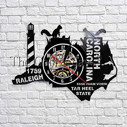 Zustand The Tar Ferse State North Carolina Vinyl Modernes Design 3Den WandkunstDekor Reise Geschenk ()