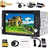 Die besten EinCar Doppel-din Autoradios - Universal-Doppel-DIN 6.2 Zoll Touch Screen 2 DIN DVD-Spielern Bewertungen