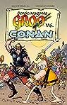 Groo vs Conan par Aragones