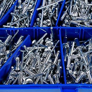 Yaheetech Coffret de rivets aveugles assortis 660 pièces en Aluminium