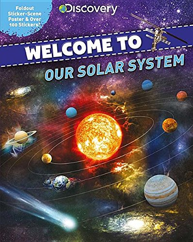Discovery Welcome to Our Solar System: Foldout Sticker-Scene Poster & Over 100 Stickers! Solar Eclipse-poster