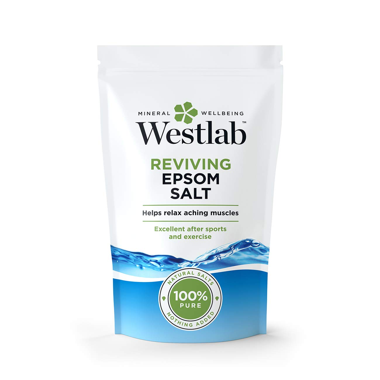 WESTLAB LTD Epsom Bath Salts 2kg (PACK OF 1)