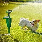 Gardigo Solar-Wasser-Tiervertreiber, Reiherschreck, Vogelscheuche, Hunde-Katzen-Tierschreck - 5