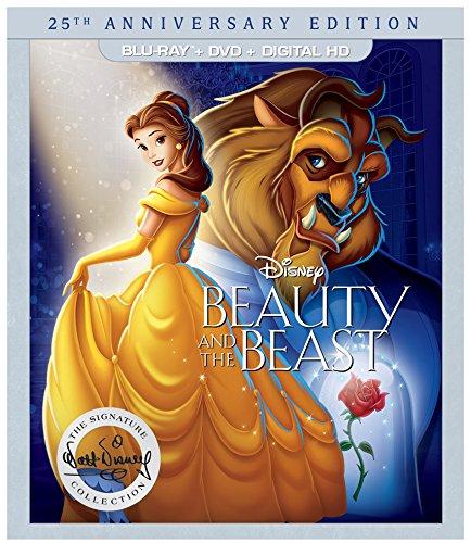 Beauty & The Beast: 25th Anniversary Edition [USA] [Blu-ray]
