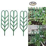 Pflanzen unterstützung Klettern Blätter, Kunststoff-Gitter Kombination Blumen Rack 35,5* 10cm