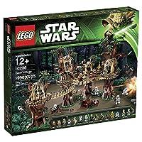 Lego Star Wars 10236 - Ewok Villaggio - Ein Speeder È Anche in Set Contengono - Include R2-D2 e 16 minifigures: Luke Skywalker, la Principessa Leia, Han Solo, Chewbacca, C-3PO, due soldati ribelli, cinque Ewoks, due Scout Trooper e due Stormt...
