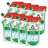 8x Frosch Spiritus Glas-Reiniger Nachfüllbeutel 500 ml