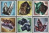 Prophila Collection DDR 1737-1742 (kompl.Ausg.) 1972 Minerale der Bergakademie Freiberg (Briefmarken für Sammler) Mineralien / Schmuck