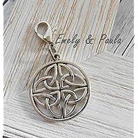 1 Anhänger Keltischer Knoten Mit