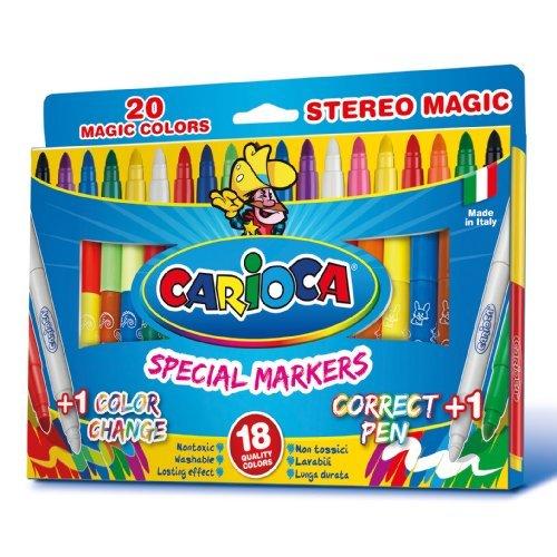 Carioca Zauberstifte Magic Pens, Magic Colors, 20 Stk.